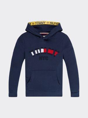 Tommy Hilfiger Repurposed hoodie met New York-logo
