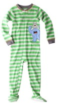 Carter's Just One You® by Infant Toddler Boys' Monster Footed Blanket Sleeper