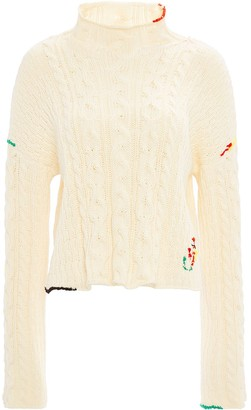 J.W.Anderson Cable Knit Cropped Jumper