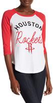 Junk Food Clothing Houston Rockets 3/4 Length Sleeve Tee