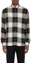 Public School MEN'S PLAID GAUZE SHIRT
