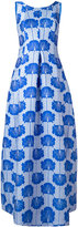 P.A.R.O.S.H. embroidered dress - women - Polyester/Polyamide/Silk/Viscose - S