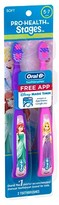 Oral-B Pro-Health Stages Disney Princess Manual Kid's Toothbrush - 2 Count
