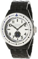 Vivienne Westwood Men's VV007SLBK Saville Silver Black Watch