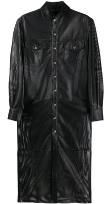 Simonetta Ravizza Panelled Shirt Dress