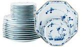 Haviland Set of 24 Jardin Bleu Blue Dinner & Bread Plates