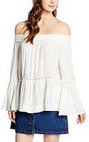 Vero Moda Women's James Long-Sleeve Off-The-Shoulder Top
