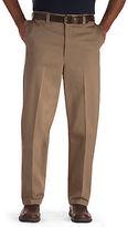 Oak Hill Waist-Relaxer Flat-Front Premium Pants Casual Male XL