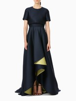 Jason Wu Navy Evening Doubleface Ball Gown