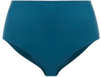 Ephemera - High-rise Bikini Briefs - Green