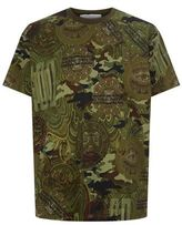 Givenchy Camouflage Money Print T-shirt