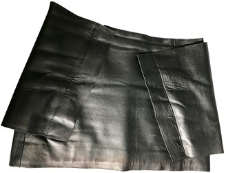 J.W.Anderson Black Leather Skirts