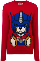 Moschino Transformer Bear knit sweater - women - Virgin Wool - XS