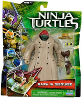Teenage Mutant Ninja Turtles Movie Basic Raph In Disguise Figure