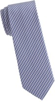 Salvatore Ferragamo Seashell-Print Silk Tie