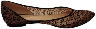 Bottega Veneta Black Velvet Flats