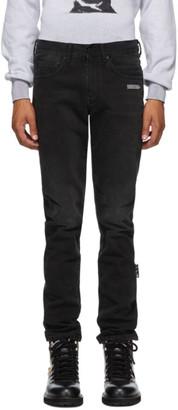 Off-White Black Slim Jeans