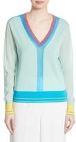 Diane von Furstenberg Women's Colorblock Sweater