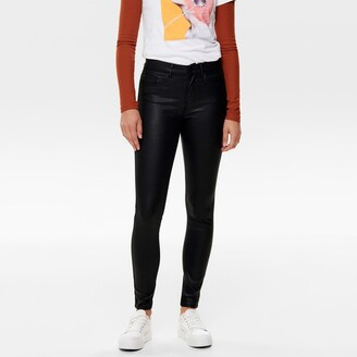"""Only Coated Skinny Jeans, Length 32"""""""