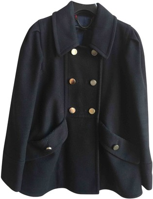 Marc by Marc Jacobs Navy Wool Coat for Women