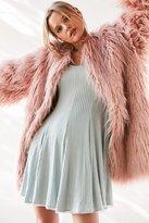 Ecote Topanga Cozy Ribbed Long-Sleeve Mini Dress
