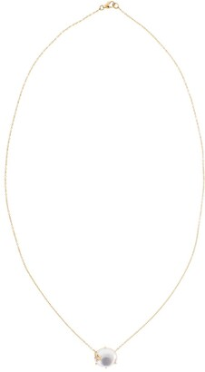 Andrea Fohrman 18kt rose gold diamond Mini Galaxy Mother of Pearl necklace