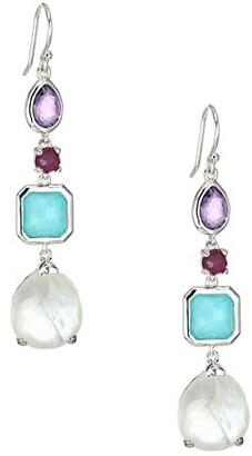 Ippolita Rock Candy Sterling Silver & Multi-Stone 4-Drop Earrings