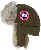 Canada Goose furry winter cap