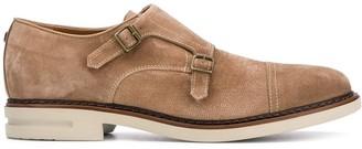 Brimarts Double Strap Monk Shoes
