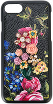 Dolce & Gabbana rose embellished iPhone 7 Plus case
