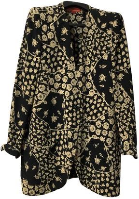 Ungaro Black Silk Coats