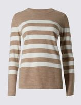 Marks and Spencer Long Sleeve Striped Jumper