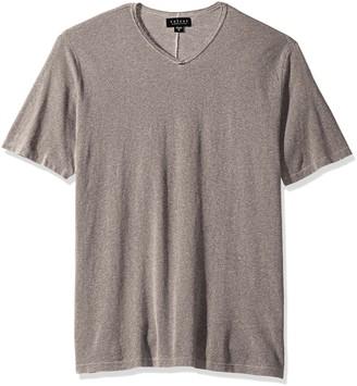 Velvet by Graham & Spencer Men's Stan Oil Washed Linen Shirt