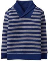 Crazy 8 Stripe Shawl Collar Sweater