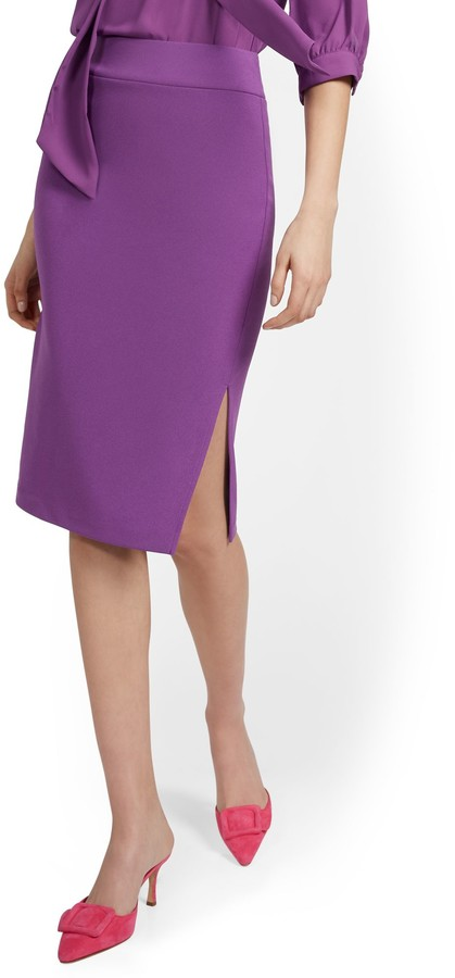 Thumbnail for your product : New York & Co. Pull-On Pencil Skirt |