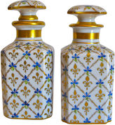 One Kings Lane Vintage Le Tallec Paris Perfume Bottles, Pair