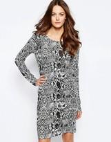 Ichi Kimy Snakeprint Dress