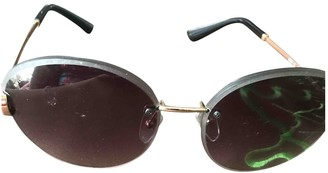 Bvlgari Black Metal Sunglasses