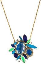 Erickson Beamon Crystal Pendant Necklace
