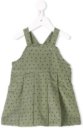 Knot Sea Spray pinafore dress