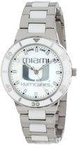 Game Time Women's COL-PEA-MIA Univ Of Miami Watch