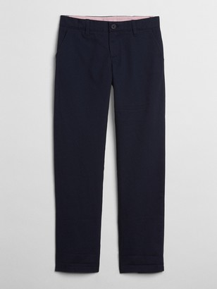 Gap Kids Uniform Stain-Resistant Chino Pants in Stretch