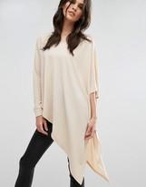 AX Paris Asymmetric Knitted Top