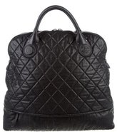 Chanel Quilted CC Weekender Bag