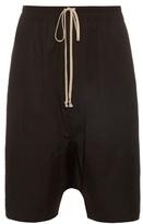 Rick Owens Dropped-crotch Cargo Shorts