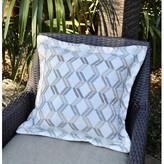 Zig-Zag Sand Sunbrella Indoor/outdoor Throw Pillow Red Barrel Studio Color: Tan/Brown