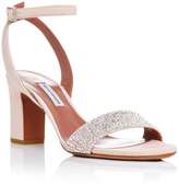 Tabitha Simmons Metallic Leather Leticia City Sandals