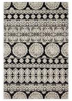 Magnolia Home By Joanna Gaines Magnolia Home by Joanna Gaines Lotus 9-Foot 3-Inch x 13-Foot Area Rug in Black/Silver