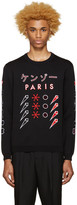 Kenzo Black Paris Japan Sweater