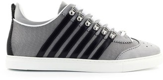 DSQUARED2 Low Sole Grey Black Sneaker
